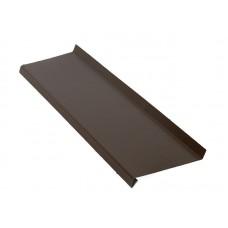 Отлив оконный 1м. кв. коричневый