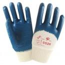 Нитриловые перчатки с легким покрытием /синие/