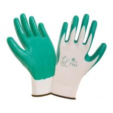 Нитриловые перчатки с легким покрытием  SafeFlex