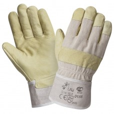 Перчатки кожаные комбинированные 0155