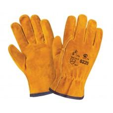 Спилковые перчатки DRIVER
